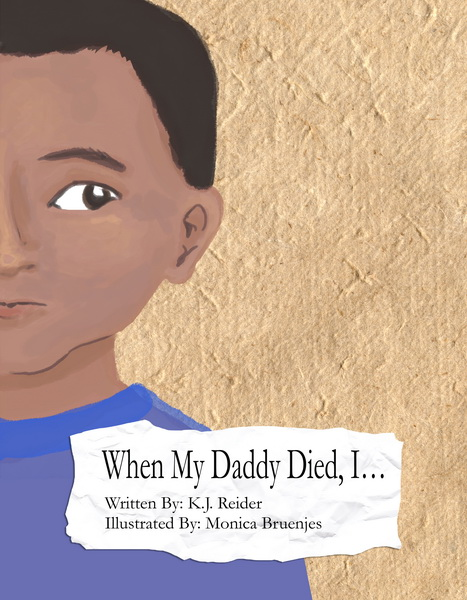 When My Daddy Died – Front Cover
